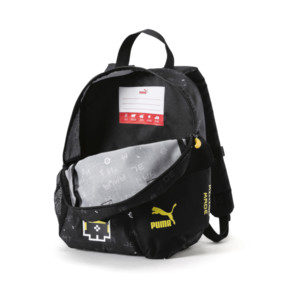 Thumbnail 3 of PUMA x MINIONS Backpack, Puma Black, medium