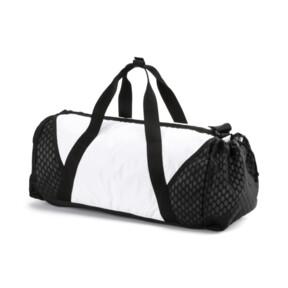 Thumbnail 2 of Ambition Gold Women's Barrel Bag, Puma White-Puma Black, medium