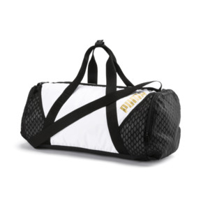 Thumbnail 1 of Ambition Gold Women's Barrel Bag, Puma White-Puma Black, medium