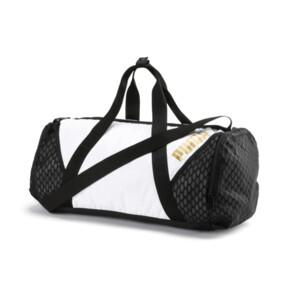 Thumbnail 1 of Ambition Gold Women's Barrel Bag, Puma White-Puma Black, medium
