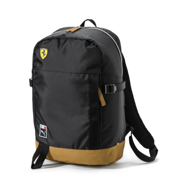 Ferrari Fan Backpack, Puma Black, large