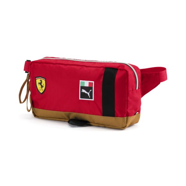 Scuderia Ferrari Fanwear Waist Bag, rosso corsa-Puma Black, large