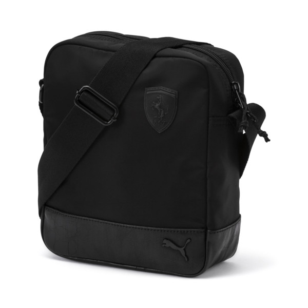 Ferrari Lifestyle Portable Bag, Puma Black, large