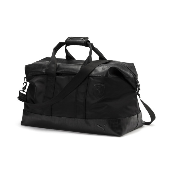Ferrari Lifestyle Weekender Bag, Puma Black, large