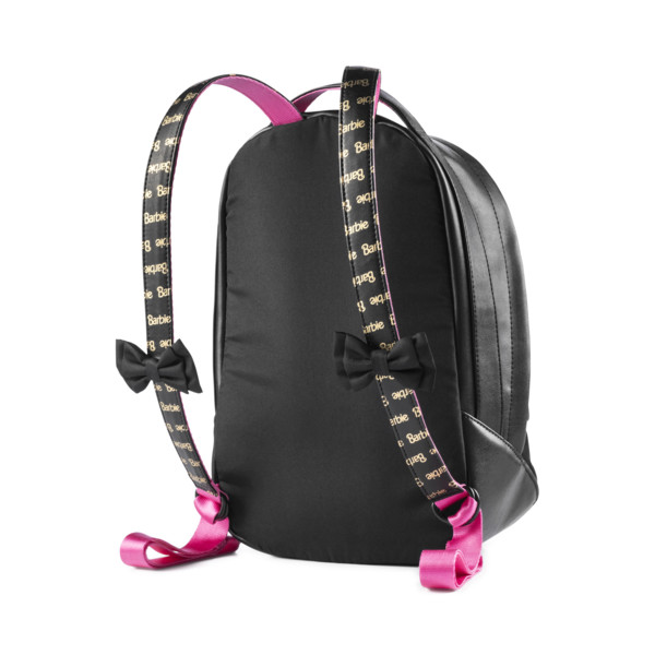 PUMA x BARBIE Backpack, Puma Black, large