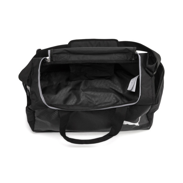 Fundamentals Sports Duffle Bag, Puma Black, large
