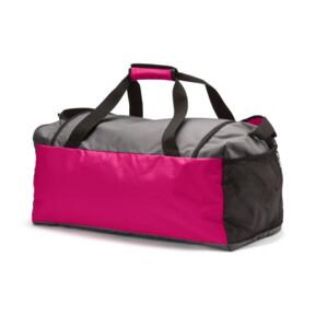Thumbnail 2 of Fundamentals Medium Sports Bag, Beetroot Purple-Steel Gray, medium