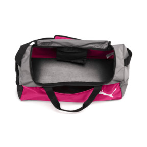 Thumbnail 3 of Fundamentals Medium Sports Bag, Beetroot Purple-Steel Gray, medium