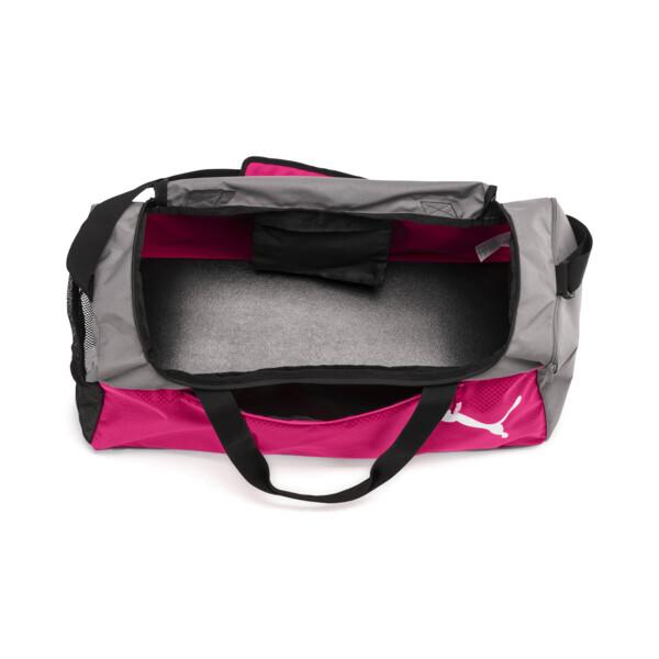 Fundamentals Medium Sports Bag, Beetroot Purple-Steel Gray, large