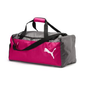 Thumbnail 1 of Fundamentals Medium Sports Bag, Beetroot Purple-Steel Gray, medium