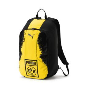 Thumbnail 1 of BVB Fanwear Backpack, Puma Black-Cyber Yellow, medium