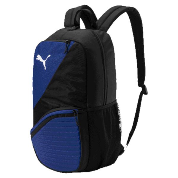 ftblNXT Backpack, Puma Black-Peacoat, large