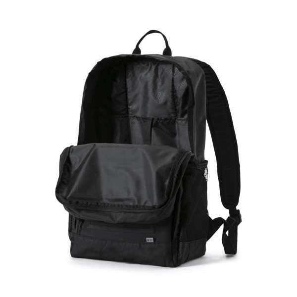 S Backpack, Puma Black, large