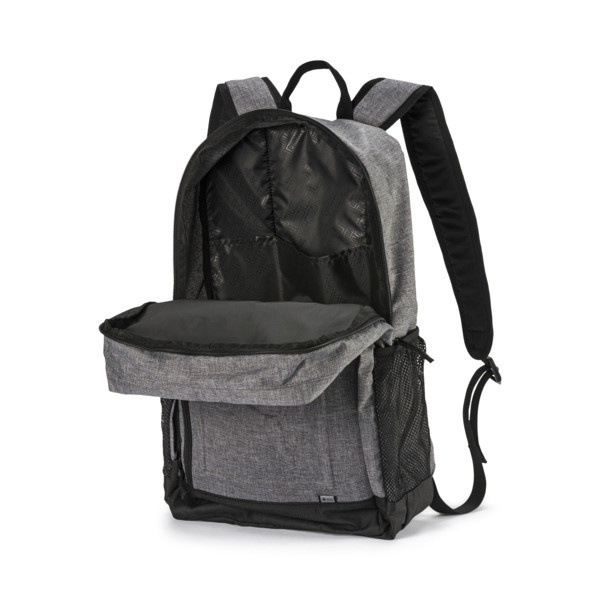 Mochila cuadrada, Medium Gray Heather, grande