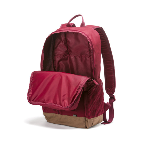 Square Backpack, Rhubarb, large