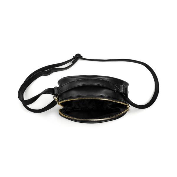 Suede Women's Premium Round Case, Puma Black, large