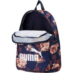 Thumbnail 2 of Puma Classic Cat Backpack, Peacoat-Flower AOP, medium