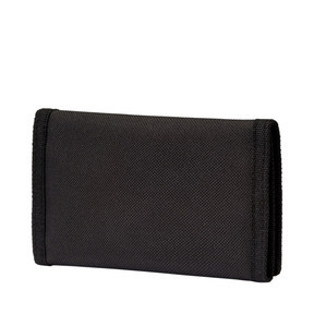 Thumbnail 2 of PUMA Phase Woven Wallet, Puma Black, medium