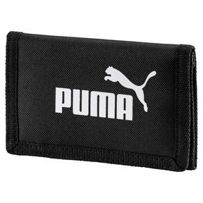 Thumbnail 1 of PUMA Phase Woven Wallet, Puma Black, medium