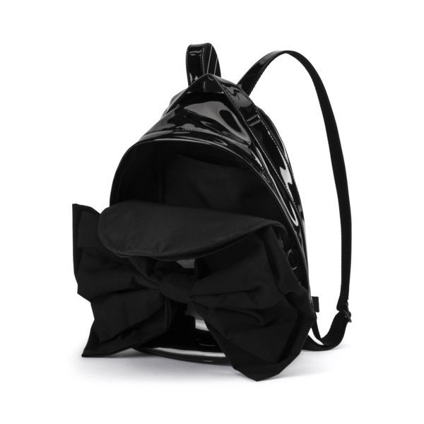 Archive Bow Suede Women's Backpack, Puma Black, large