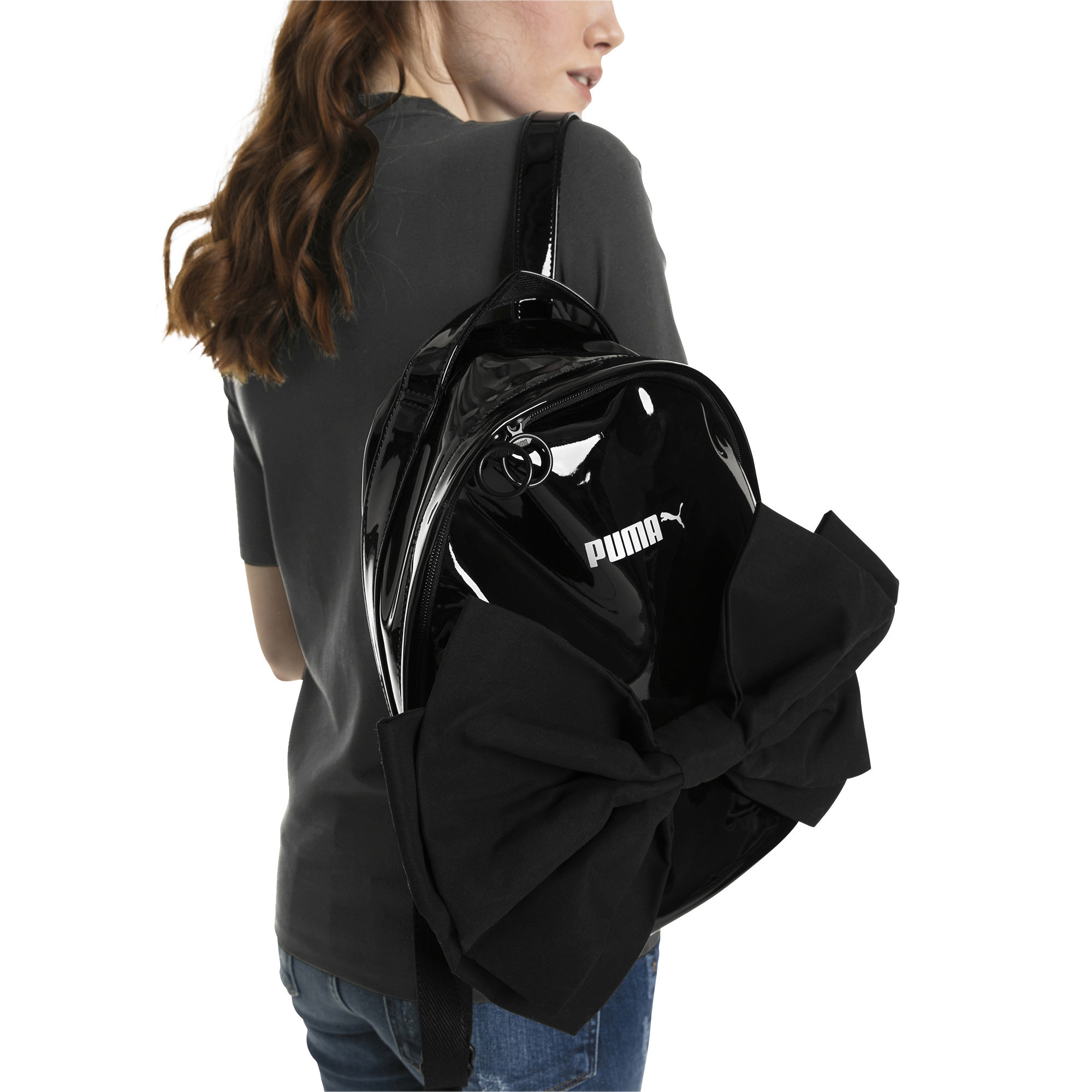 Image Puma Archive Bow Suede Women's Backpack #1