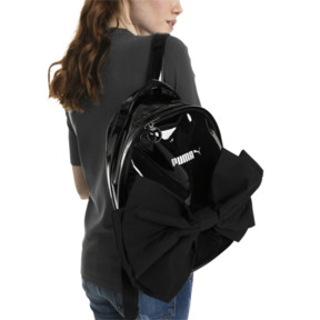 Thumbnail 4 of Archive Bow Suede Women's Backpack, Puma Black, medium