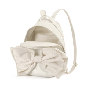 Thumbnail 3 of Archive Bow Suede Women's Backpack, Whisper White, medium