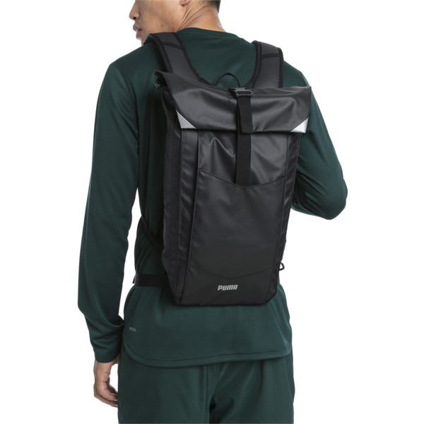 Street running Backpack, Puma Black, large