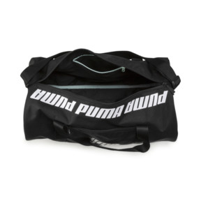 Thumbnail 4 of Small Women's Barrel Bag, Puma Black, medium