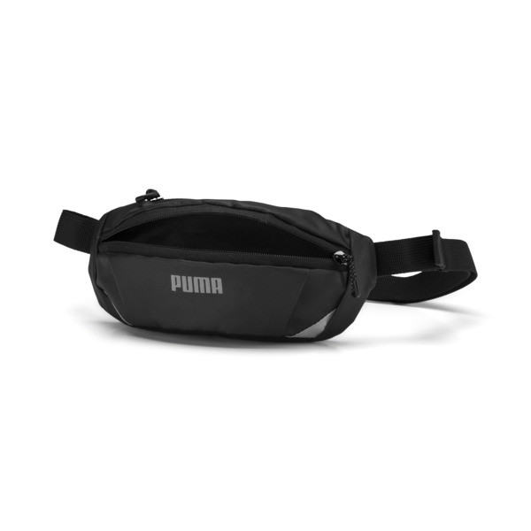 Classic Running Waist Bag, Puma Black, large