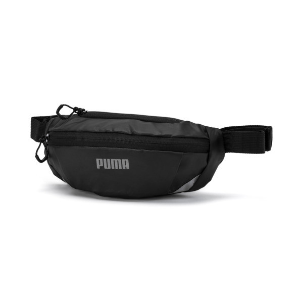 ランニング PR クラシック ウエストバッグ, Puma Black, large-JPN