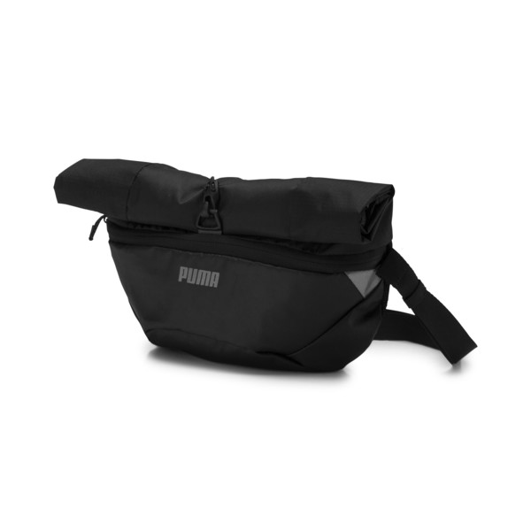 Street Running Packable Backpack, Puma Black, large