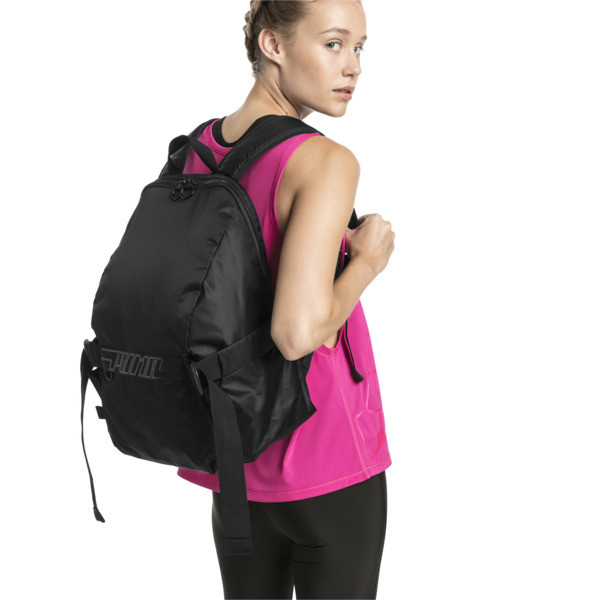 Cosmic Women's Training Backpack, Puma Black, large