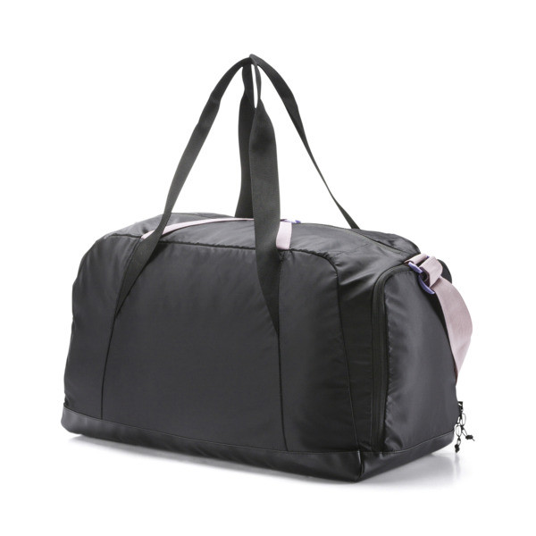 Active Women's Training Duffle Bag, Puma Black, large