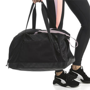 Thumbnail 2 of Active Women's Training Duffle Bag, Puma Black, medium