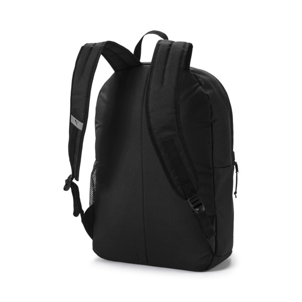 PUMA Academy Backpack, Puma Black, large