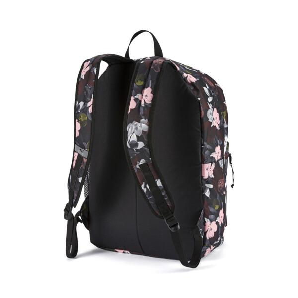 PUMA Academy Backpack, Puma Black-Floral AOP, large