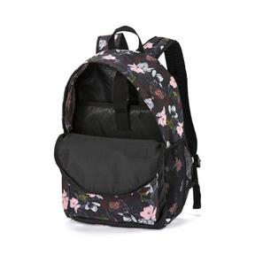 Thumbnail 3 of PUMA Academy Backpack, Puma Black-Floral AOP, medium