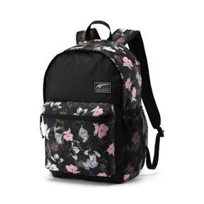 Thumbnail 1 of PUMA Academy Backpack, Puma Black-Floral AOP, medium
