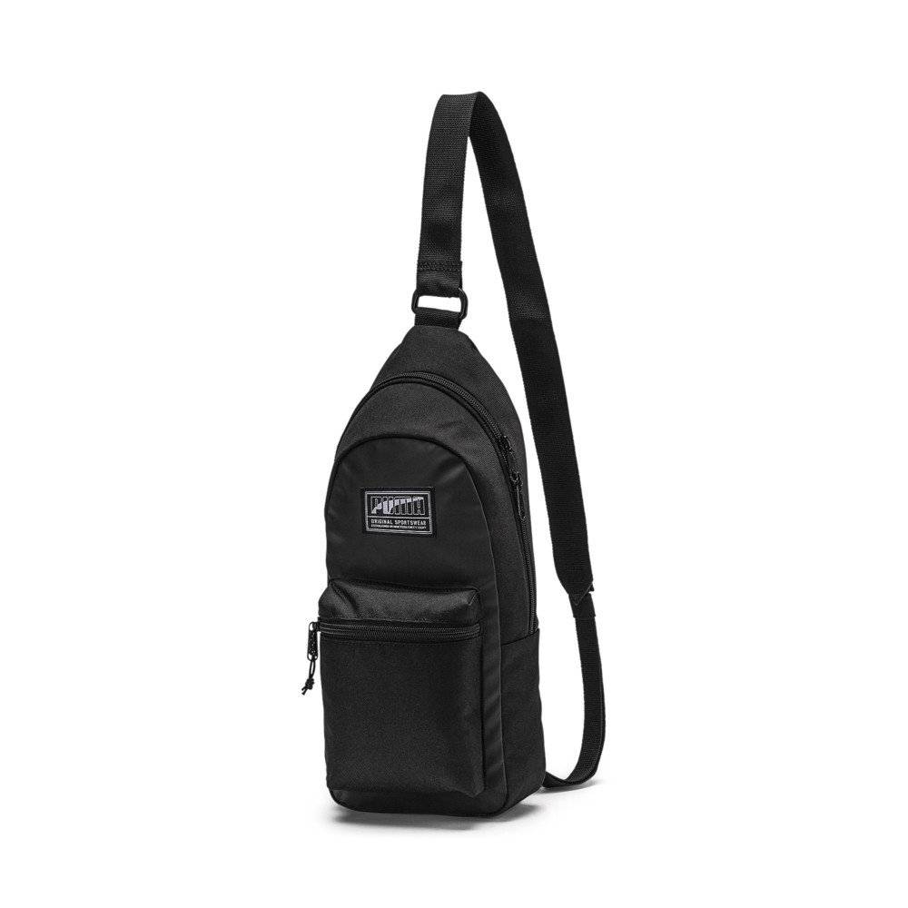 51c9998aa0871b PUMA Academy Cross Backpack | 10 - Black | Puma
