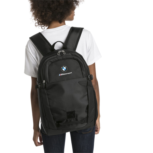 BMW M Motorsport Rucksack, Puma Black, large