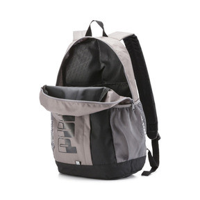 Thumbnail 4 of Plus II Backpack, Charcoal Gray-Puma Black, medium