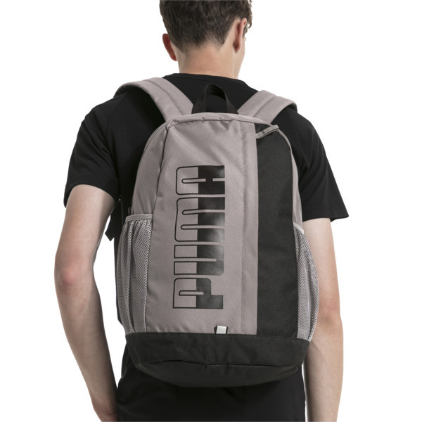 Plus II Backpack, Charcoal Gray-Puma Black, large