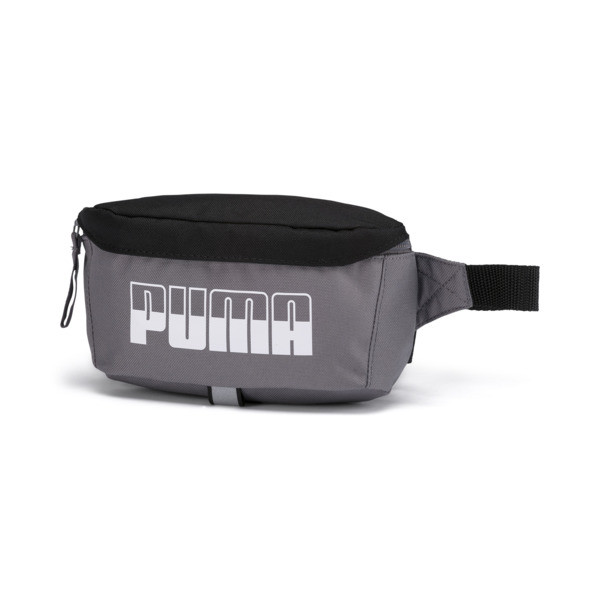 PUMA Plus Waist Bag II, CASTLEROCK-Puma Black, large