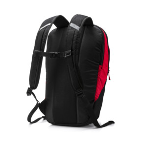 Thumbnail 3 of PUMA X Backpack, Peacoat-Puma Red-Puma Black, medium