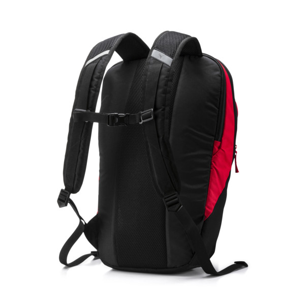 PUMA X Backpack, Peacoat-Puma Red-Puma Black, large