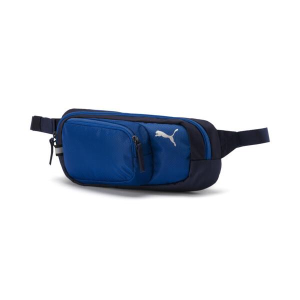 PUMA X Multi Waist Bag, Peacoat-Galaxy Blue, large