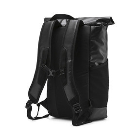 Thumbnail 3 of Energy Rolltop Backpack, Puma Black, medium