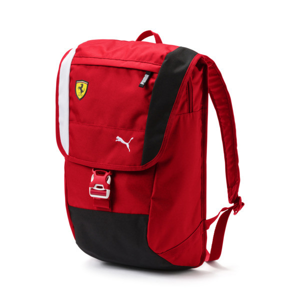 Ferrari Fanwear Backpack, Rosso Corsa, large