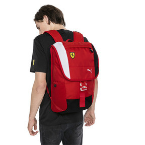 Thumbnail 2 of Ferrari Fanwear Backpack, Rosso Corsa, medium